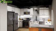 Modern Small Kitchen Desing Ideas By Yantram 3d interior designers